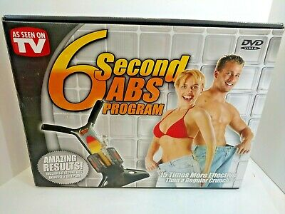 AU108.02 • Buy NEW 6 Second Abs — Workout At Home — As Seen On TV SX100