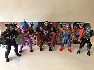 $100 • Buy Mattel Masters Of The WWE Universe Wrestling Action Figure Lot Loose Mint WWF