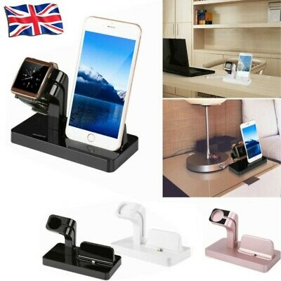 £9.68 • Buy 2 In 1 Charging Dock Stand Station Charger Holder For Apple Watch IWatch IPhone