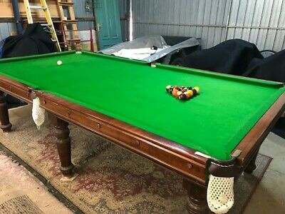 AU2300 • Buy Pool Table , Slate Top , 9ft X 41/2ft , Excellent Condition With All Accessories