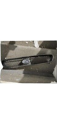 $65 • Buy 2005 Subaru WRX STI Upper Front Bumper Mounted Mesh Grille Assembly OEM 0379