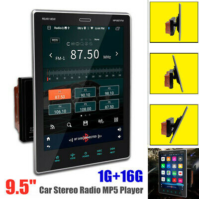 $183.99 • Buy 9.5  2DIN Touch Screen Android 9.0 GPS WIFI Car Stereo Radio MP5 Player 1G+16G