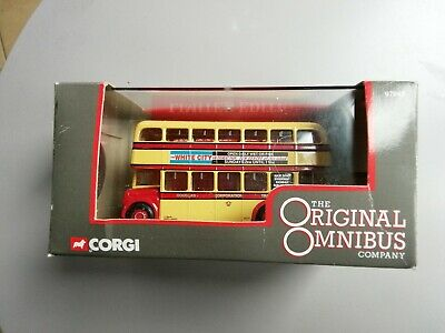 $ CDN8.62 • Buy Corgi Omnibus 97943 AEC Regent Douglas Corp Transport Double Decker Bus New