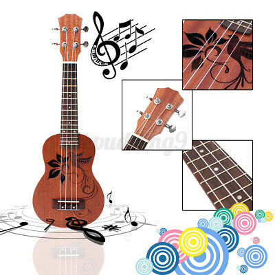 AU35.67 • Buy 21'' Kids Ukulele Guitar Acoustic String Musical Instrument Toy Birthday