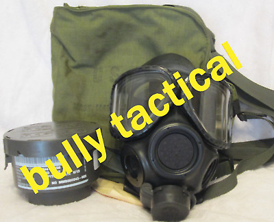 $175 • Buy M40 Gas Mask Small With 2nd Skin, Filter, And Bag (D)