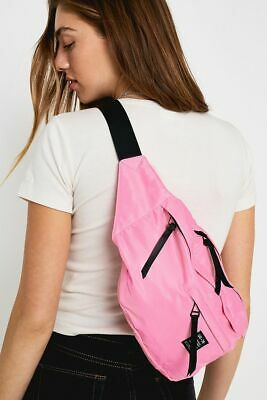 £12 • Buy Urban Outfitters Pink Oversized Bum Bag Crossbody Over Shoulder RRP £32