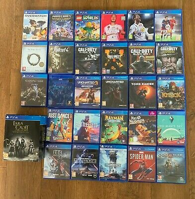 £8.99 • Buy PS4 Games - Various Titles Inc. Call Of Duty, Battlefront, FIFA, Tomb Raider Etc