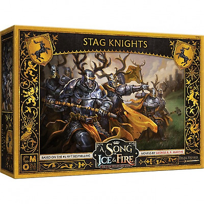 £34.99 • Buy Stag Knights A Song Of Ice And Fire Miniatures Game New And Sealed