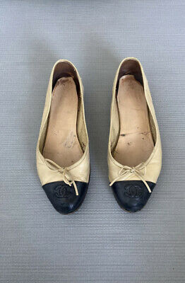 £177 • Buy Chanel Ballet Flats 38.5 Authentic