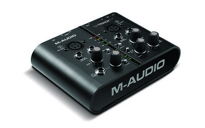$130 • Buy M-Audio M-Track Plus Two-Channel Portable USB Audio And MIDI Interface