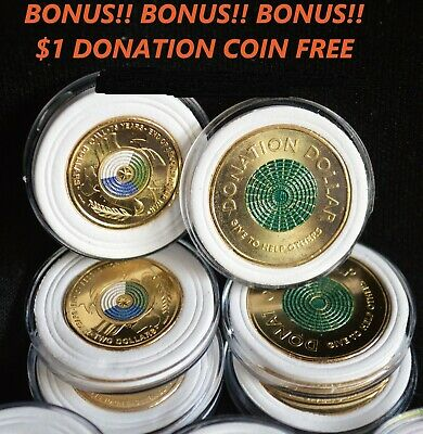 AU9.95 • Buy 2020 $2 75th ANNIV END WW2 + $1 DONATION COIN (FREE) TOP QUALITY !! IN CAPSULES