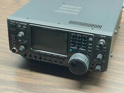 Icom IC-746PRO All Mode HF/VHF Transceiver HF/50MHz/144MHz Radio W/Online Manual • 619.08£