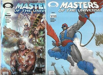 $9.89 • Buy Masters Of The Universe Lot Of 2 - #3 Cover A & B Foil Cover (nm-) Image Comics
