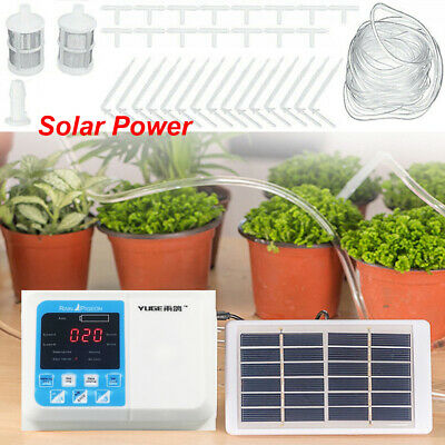 £41.99 • Buy Intelligent Drip Water Irrigation System Solar Self Watering Plant Timer