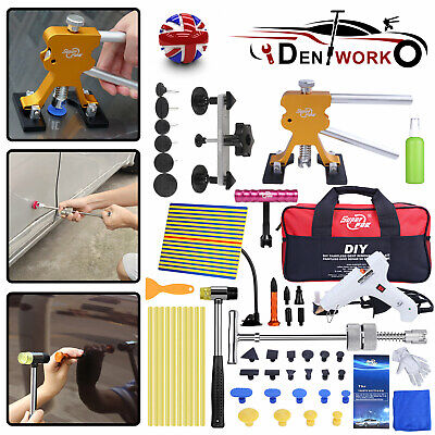PDR Tools Auto Paintless Dent Repair Kit Hail Removal Puller Slide Hammer & Tabs • 48.65£