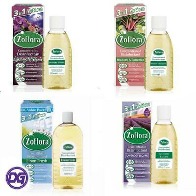 Zoflora Concentrated Anti Bacterial Disinfectant 120ml - CHOOSE SCENT • 6.95£