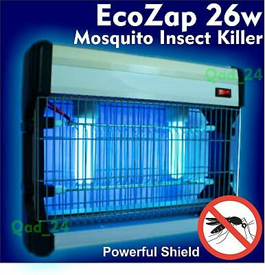 £22.95 • Buy 26W Electric UV Insect Killer Mosquito Fly Pest Bug Zapper Trap LED Light EcoZap