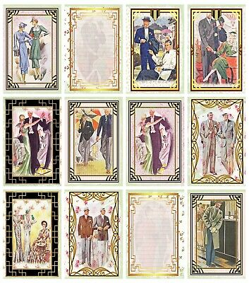 £4.30 • Buy ART DECO (B) PATTERNED A4 PAPERS/CARD - 160gsm - CRAFTING
