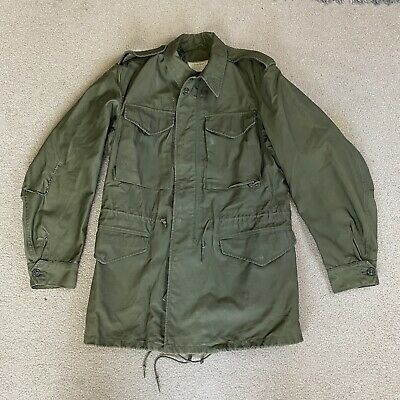 $39.99 • Buy Vintage US Army M-51 Field Jacket Coat M-1951 OG 107 Military Sz Long Small 1962