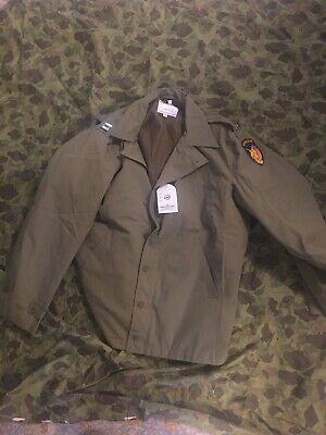 $85 • Buy Ww2 Reproduction 13 Th Air Borne Wpg Nwt M41 Jacket Size 46 Xl Captains Bars