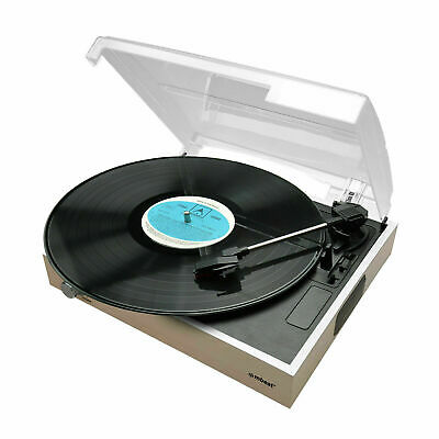 AU89.95 • Buy Turntable Record Player Wooden Style With USB Record And Built-in Speaker Mbeat