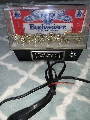 $ CDN106.70 • Buy Vintage Budweiser World Champion Clydesdale Team Light Man Cave