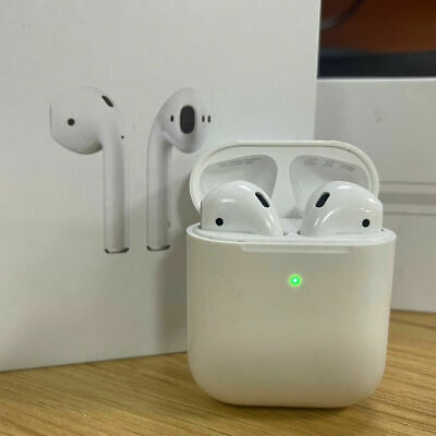 AU63.29 • Buy Apple AirPods 2nd Generation Wireless Earbud W/ Charging Case Headsets