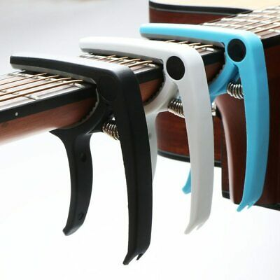 $ CDN4.83 • Buy Guitar Capo Plastic Electric Acoustic Quick Clamp Change Classic String Tuning