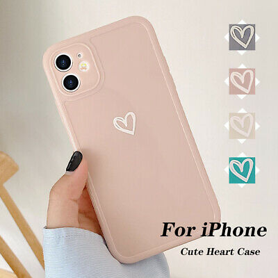 £3.95 • Buy Girly Heart Phone Case For IPhone 11 12 Pro XR 8 7 SE Shockproof Soft TPU Cover
