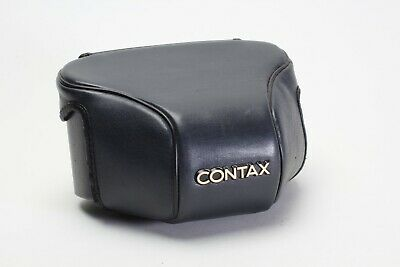 $ CDN49.99 • Buy Contax Body Case GC-111 & GC-110 In Black Leather For Contax G1; Kyocera Japan