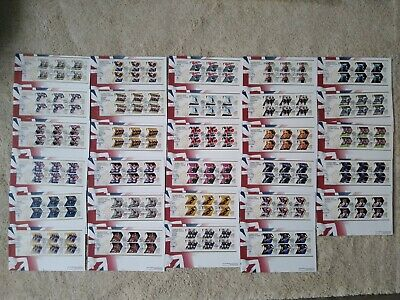 £99.99 • Buy Gold Medal Winners 2012 Olympic Stamps Complete Set 29 First Day Covers (London)