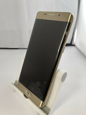 $ CDN68.14 • Buy Faulty Samsung Galaxy S6 Edge Plus Gold Android Smartphone