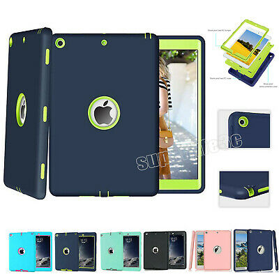 AU15.99 • Buy Heavy Duty Shockproof Case Hybrid Hard Cover For New IPad 6th 5th Gen 9.7  2018