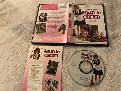 $15 • Buy Maid To Order (1987) Dvd W/ Insert Ultra Rare Oop Ally Sheedy