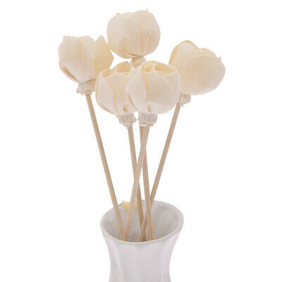 AU5.19 • Buy 5Pcs Rattan Reed Diffuser Sticks Rose Flower Aroma Fragrance Replacement Refill