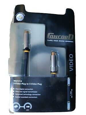 AU12 • Buy Concord S-Video Cable 1.5m