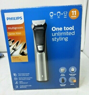 AU98.30 • Buy Philips 11-in-1 All-In-One Trimmer, Series 7000 Grooming Kit, Beard Trimmer