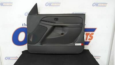 $135 • Buy 2003-07 Chevy Silverado Classic Passenger Right Front Door Trim Panel Dark Gray