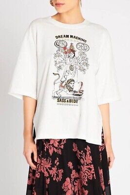 AU60 • Buy Sass And Bide Dream Machine Tee XXS