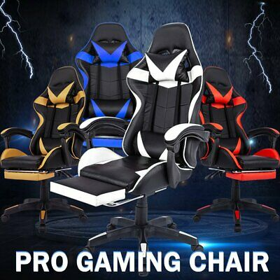 AU115 • Buy Office Chair Gaming Chair Computer Executive Chairs Racing Racer Seating