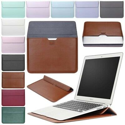 AU17.24 • Buy For Macbook Air 11 13 Pro 13 Retina 12  Inch Laptop Sleeve Case PU Leather Cover