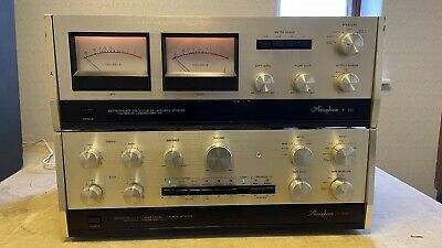 £1580 • Buy Accuphase C-200 Controller/ Pre-Amplifier And P300 Power Amp