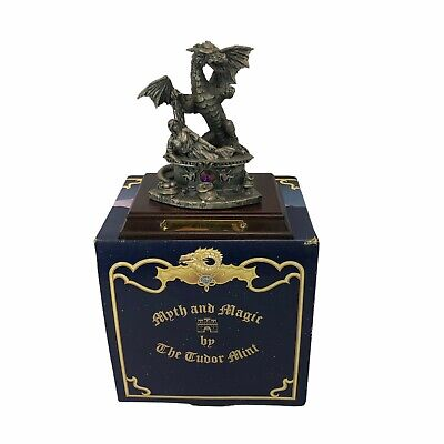 £33.23 • Buy Myth & Magic OY2000 Protector Of The Fairy Princess Boxed Pewter  Crystals
