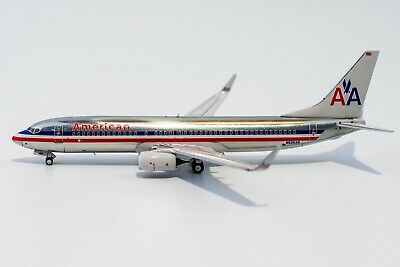 $53.95 • Buy 1:400 NG 58092 American Airlines 737-800(WL) N936AN Chrome Livery