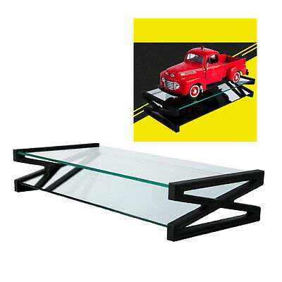 £15.35 • Buy 1:18 Scale Transparent Display Stand Base Case For Model Cars Action Figures
