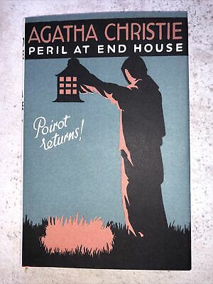 Agatha Christie Hardback Book Pour Or. Peril At End House • 9.99£