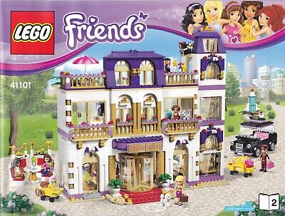£79.95 • Buy LEGO FRIENDS HEARTLAKE GRAND HOTEL 100% COMPLETE WITH INSTRUCTIONS. No 41101