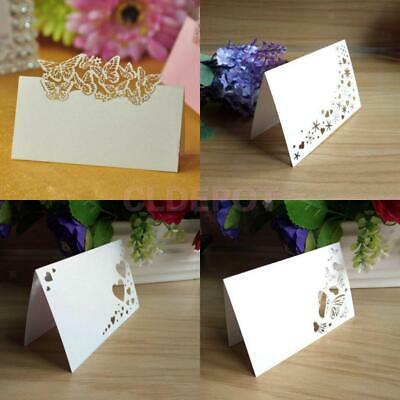£6.55 • Buy 50 Place Name Cards For Wedding Party Birthday Event Baby Shower Table Setting