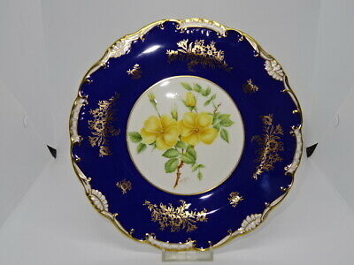 Minton Limited Edition Signed Hand Painted Cabinet Plate - W.R.Tipton - Flowers • 64.95£
