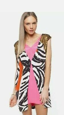 AU249 • Buy Sass & Bide THE FLAGMAKER Dress Sequins BNWT Size 44 Or 14 RRP $690